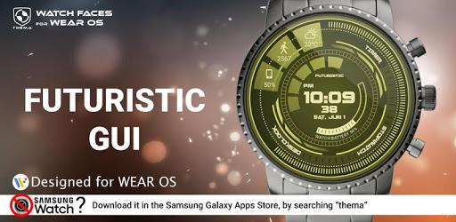 Futuristic GUI Watch Face apk