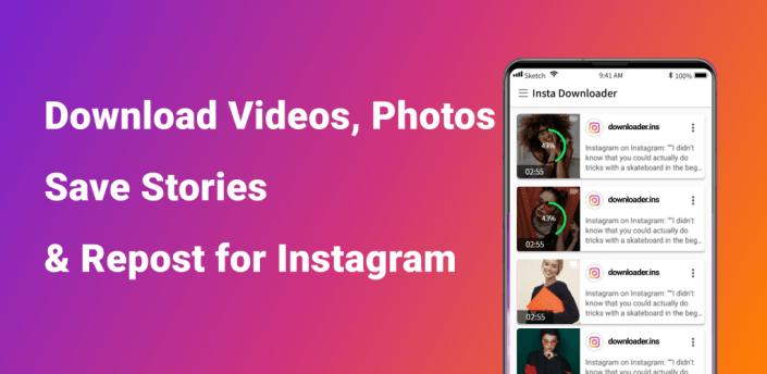 Insta Video downloader for Instagram, Story Saver apk