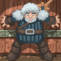 White Viking: GOT Game Swords Icon