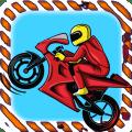 Brave Moto Rider Icon