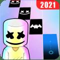 Marshmello Music Dance : Piano Tiles Icon