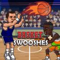 Basket Swooshes - basketball game Icon
