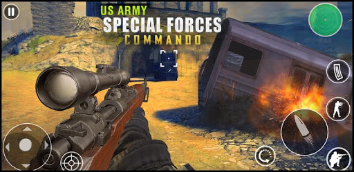 US Army Special Forces Commando World War Ops 2020 apk