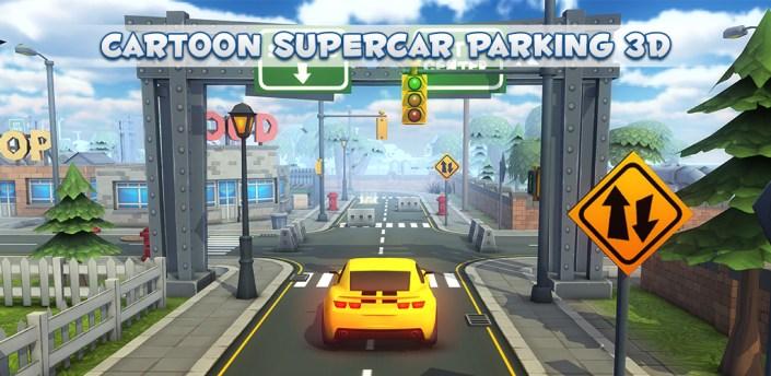 Cartoon Super Car Parking 3D apk