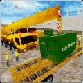 City Building Crane Sim 3D Icon