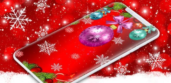 Christmas Wallpapers 🎅 Xmas Tree Live Wallpaper apk