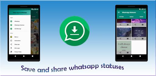 Status saver for whatsapp - Save-download status apk