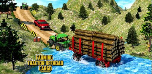 Heavy Tractor Trolley Driver Simulator: Free Games apk
