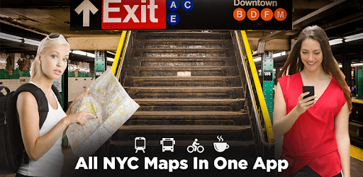 NYC Subway,Bus,Rail,Bike Maps apk