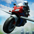 Flying Police Bike Simulator Icon
