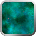 Cyan Nebula Live Wallpaper Icon