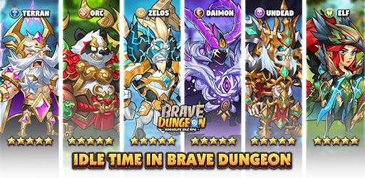 Brave Dungeon: Roguelite IDLE RPG apk