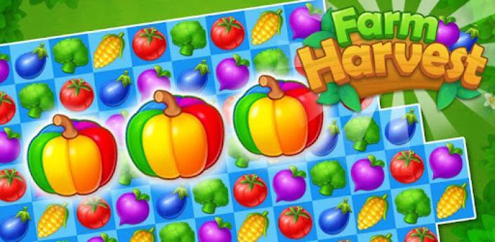 Farm Crush : Farm Match 3 Games apk