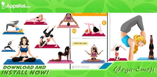 Yoga & Meditation Wellness Emoji Stickers App apk