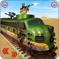 US Army Train Gunship Attack : Train Driving Games Icon