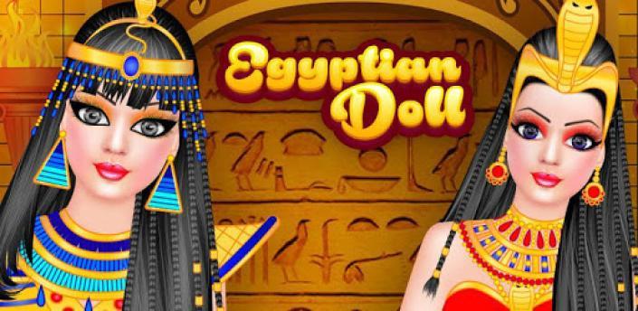 Egypt Doll - Fashion Salon Dress up & Makeover apk