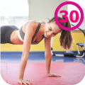 Plank workout for women free Icon
