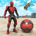 Soccer Robot Grand Super hero City Games 3D Icon