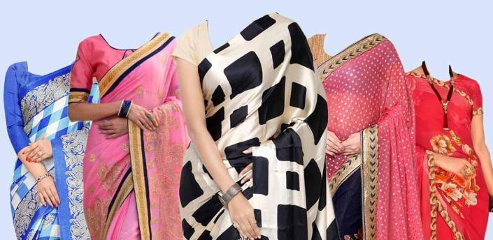 Women Saree Photo Suit : Women Saree Photo Editor apk