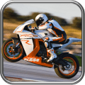 Highway Speed Bike Race Icon