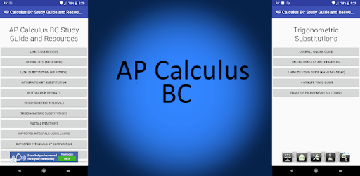 AP Calculus BC Study Guide and Resources apk