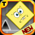 Super Geometry Run Sponge Icon