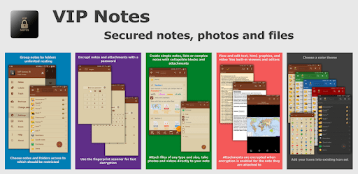 VIP Notes - notepad with encryption text and files apk