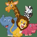 Animal Sounds Cartoon Icon