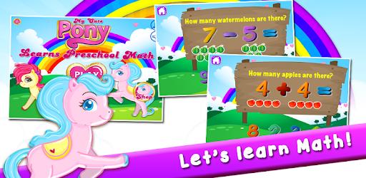 Pony Learns Preschool Math apk