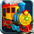 Train track puzzle : Rail traffic control Icon