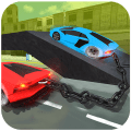 Chained Cars Racing Stunts Icon