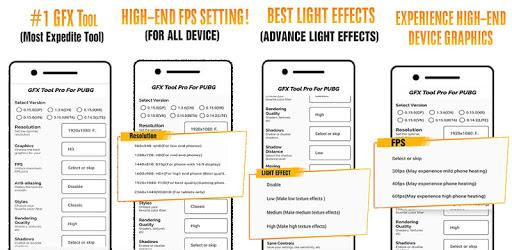 GFX Tool PUBG  (Advance FPS Settings + No Ban) apk