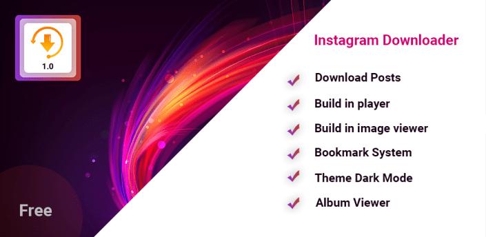 Photo & Video Downloader for instagram apk