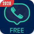 Free Call Pro - 2nd Phone Number + Texting & Call Icon