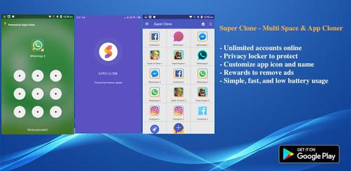 Super Clone - App Cloner for Multiple Accounts apk