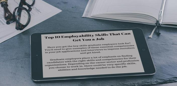 EMPLOYABILITY SKILLS that can get you a job easily apk