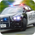 Police Pursuit Driving 3D Icon