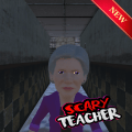 Scary Ghost Teacher 3D - Fun Scary Games Icon