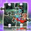Lord Radha Krishna Jigsaw - Baby Gopi Doll Live Icon