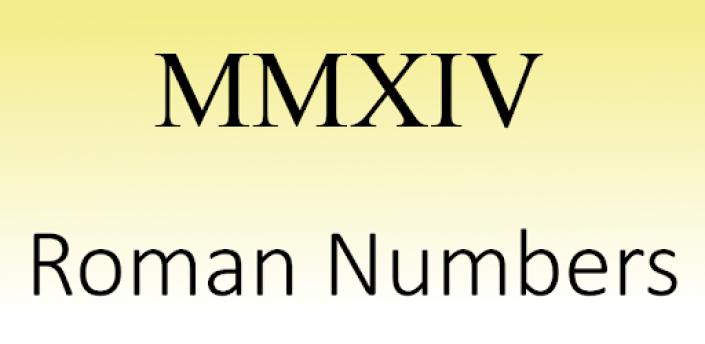 Roman Numbers apk