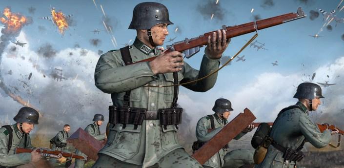 World War 2: Narva Combat, Shooting games apk