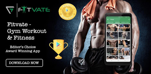 Fitvate - Home & Gym Workout Trainer Fitness Plans apk