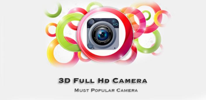3D Full HD Camera Pro apk