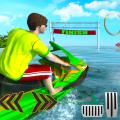 Water Surfing Jet Ski Racing Stunts Icon