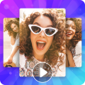 Video maker - Create love video from photos Icon