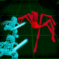 Stickman Neon Warriors: Spiders Battle Icon