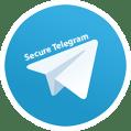 Secure Telegram Icon