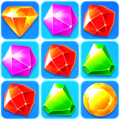 Brittle Jewel World - Match Puzzle Icon