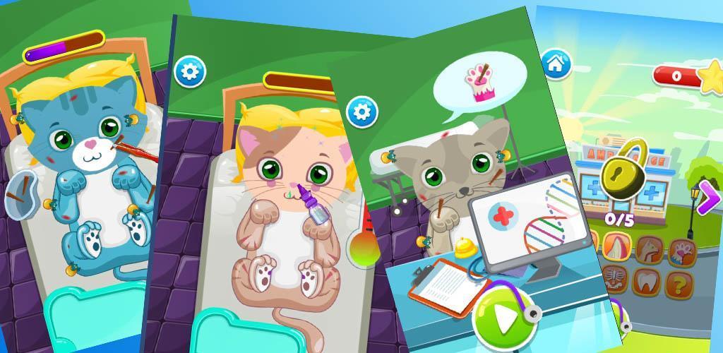 Cat Doctor Deluxe : Free Pet Doctor Game apk
