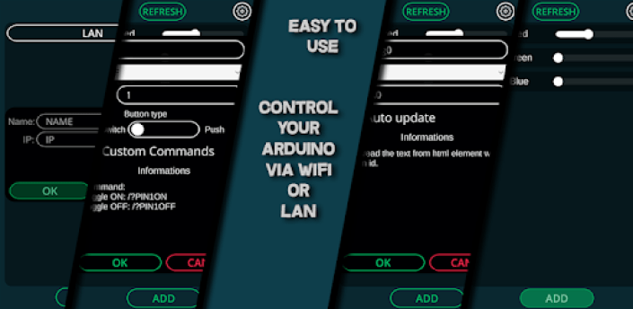 Arduino WiFi/LAN Controller apk
